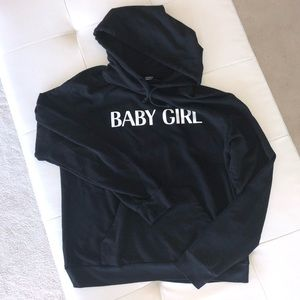 """Private Party """"Baby Girl"""" hoodie"""